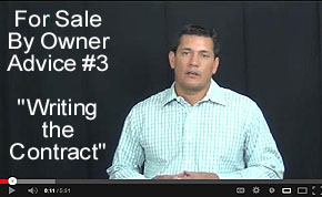 FSBO Video Tip #3 - Writing the Contract