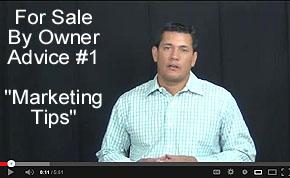 FSBO Video Tip #1 - Marketing Tips