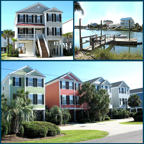 Garden City Beach Houses Oceanfront And Ocean View Homes In - House garden city
