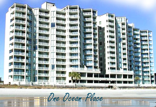 Condos for sale at one ocean place garden city beach condos for Garden city myrtle beach hotels