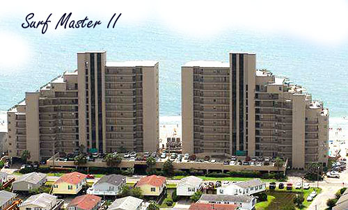 Surf Master II Condos in Garden City Beach, SC