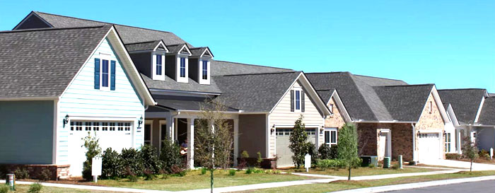 Homes in a Del Webb Community