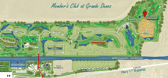 Members Club Enclave at Grande Dunes