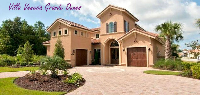 New Homes in Villa Venezia Grande Dunes