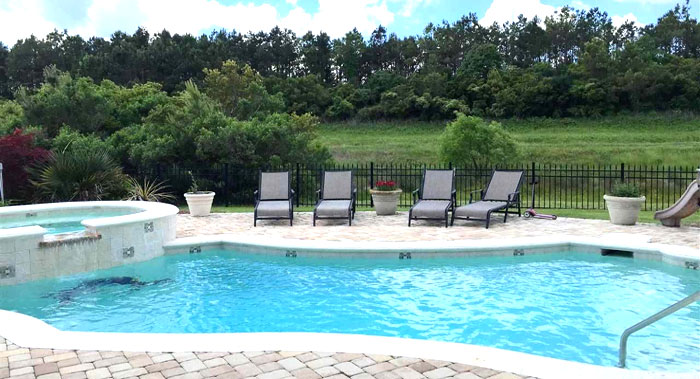 Private Pool in Plantation Point Myrtle Beach