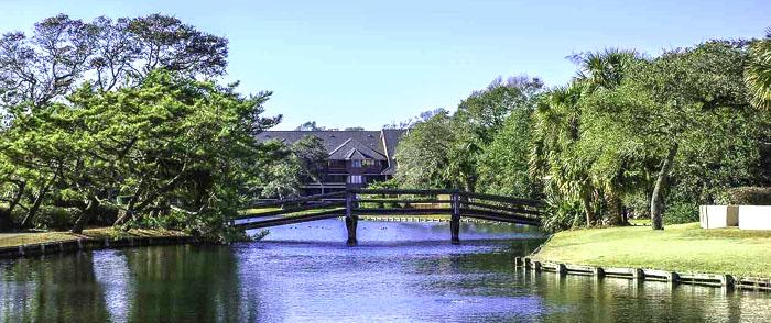 Lake at Richmond Park, Kingston Plantation
