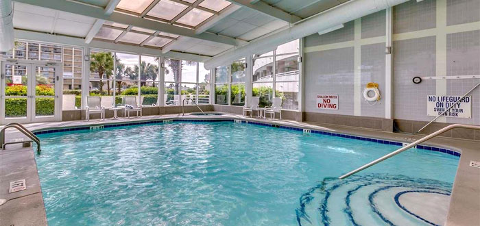 Indoor Pool - North Hampton at Kingston Plantation