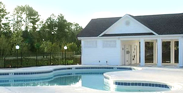 Pool in the Cottages at Farrow Parkway
