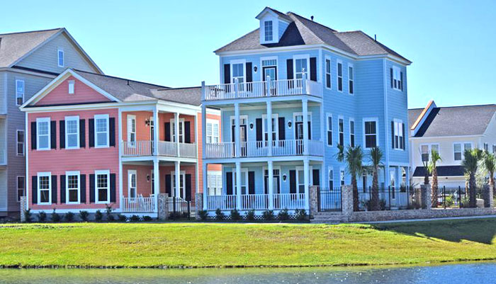 Homes in Sweetgrass Square at Market Common