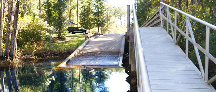 Collins Creek Boat Ramp