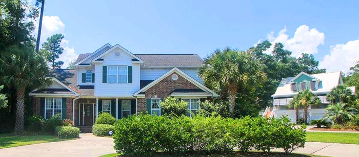 Home in Creekside Cottages, Murrells Inlet