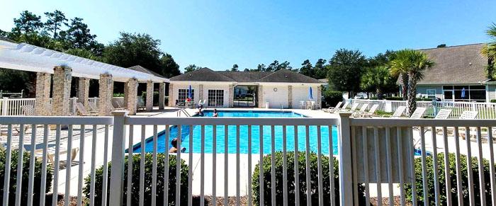 Pool at Johns Bay Townhomes