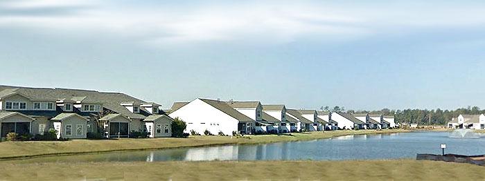 Lake in Parmalee, Murrells Inlet