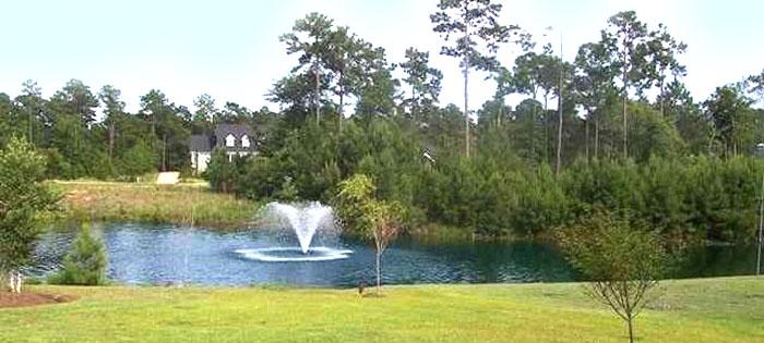 Pond in Highwood at Prince Creek