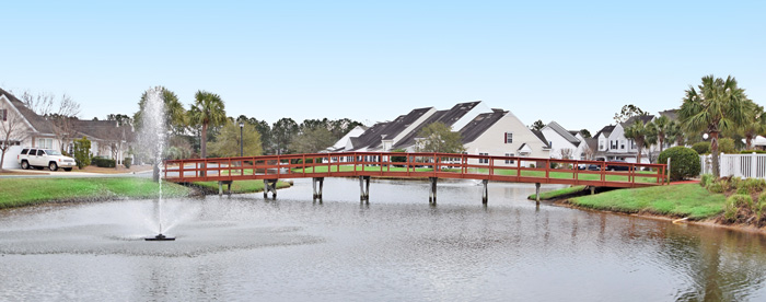 Lake in Wynbrooke, Murrells Inlet