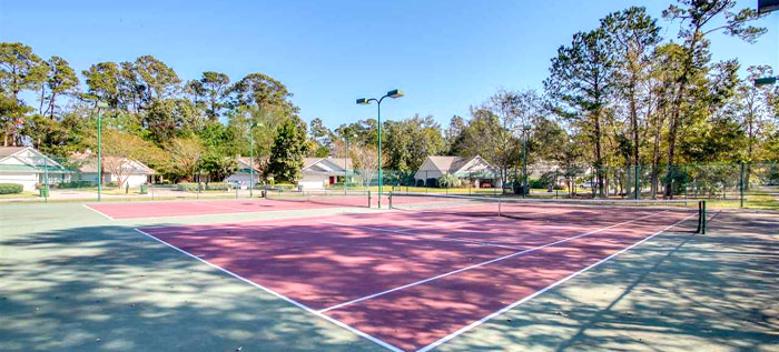 Tennis Courts at Wyngate at Wachesaw East