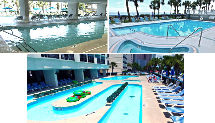 Pools at the Boardwalk Resort