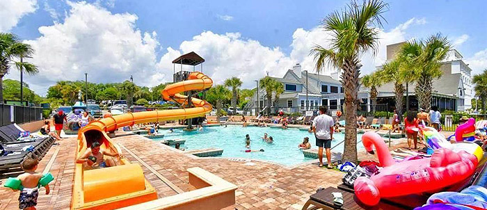 Kids Pools in the Caribbean Resort