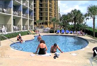 Carolinian Myrtle Beach oceanfront pool