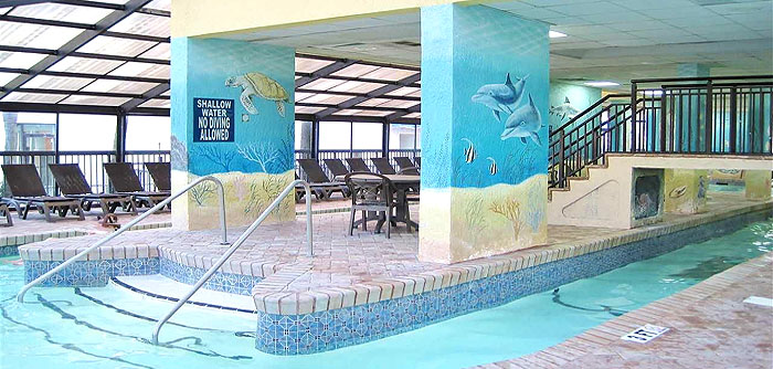 Compass Cove Indoor Pools