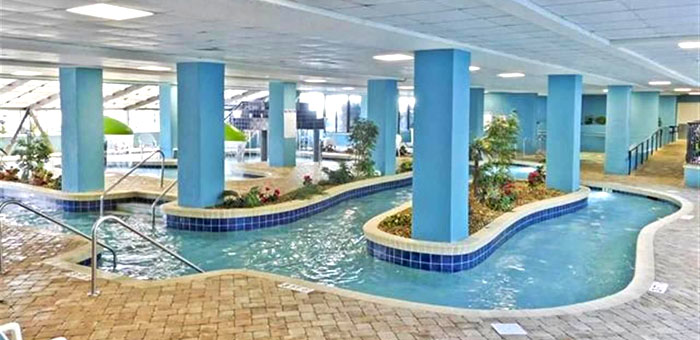 Indoor Pool at Landmark Resort Myrtle Beach
