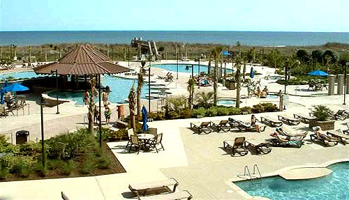 North Beach Plantation Pools
