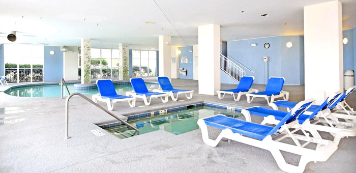 Indoor Pool at Ocean Blue