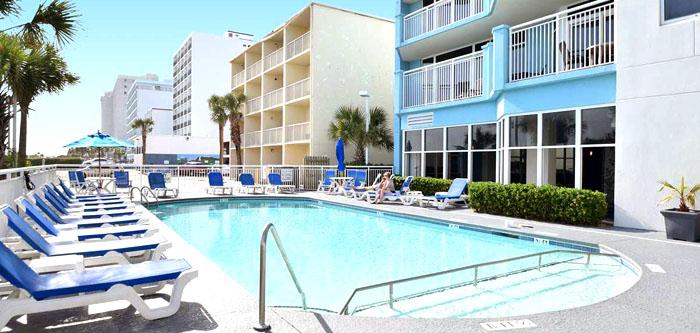 Pool in Ocean Blue Resort