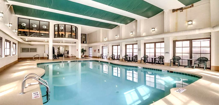 Indoor Pool at the Palms Resort Myrtle Beach