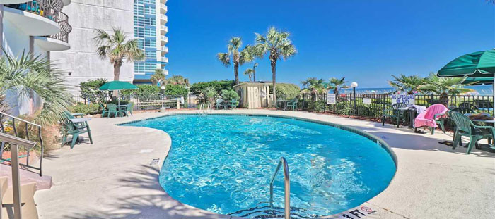 Pool at the Palms in Myrtle Beach