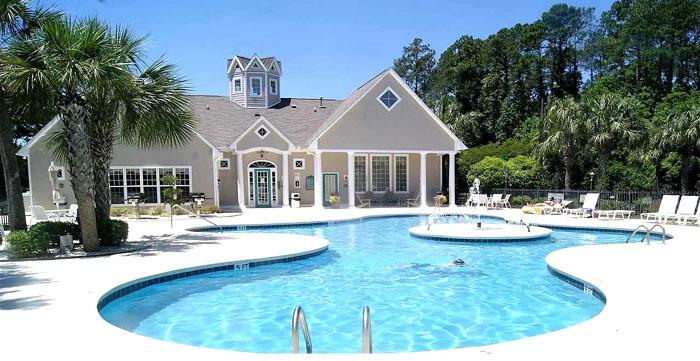 Pool at Savannah Shores Myrtle Beach