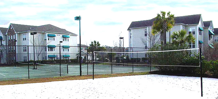 Tennis Courts at Savannah Shores