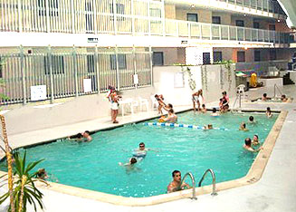 Myrtle Beach Resort Indoor Pool