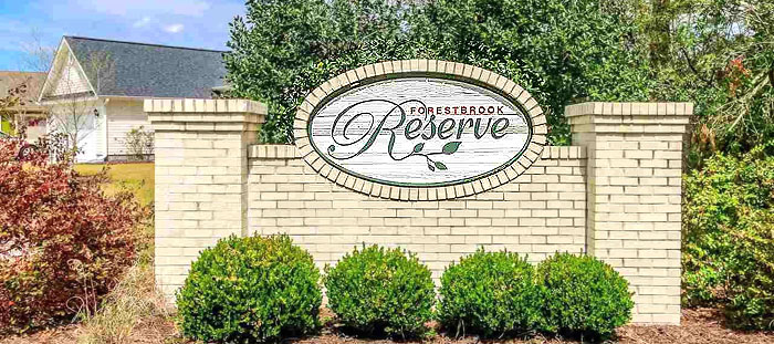 Homes for Sale in Forestbrook Reserve