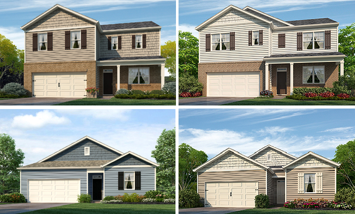 New Homes in Forestbrook Cove