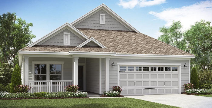 New home in Forestbrook Estates -Bradford Model