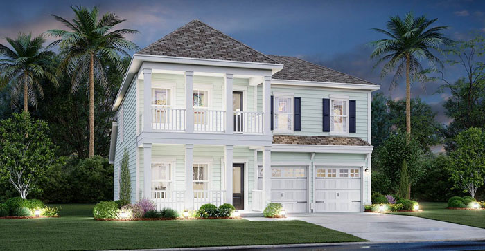 Kensington Model Home in Forestbrook Estates
