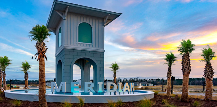 New Homes for Sale in Meridian at Market Common