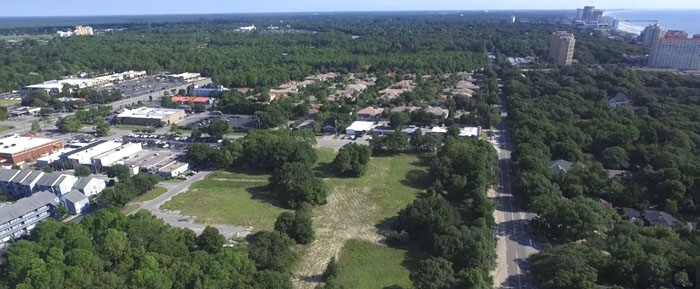 Aerial View of Papillon Site