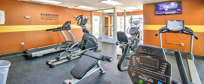 Fitness Center at Baywatch Resort
