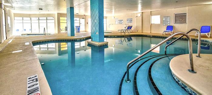 Indoor Pools at Baywatch Resort in North Myrtle Beach