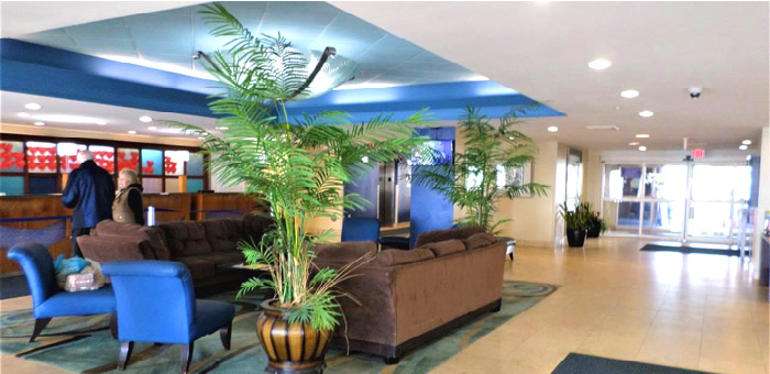 Lobby at Baywatch Resort
