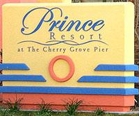 Prince Resort Sign