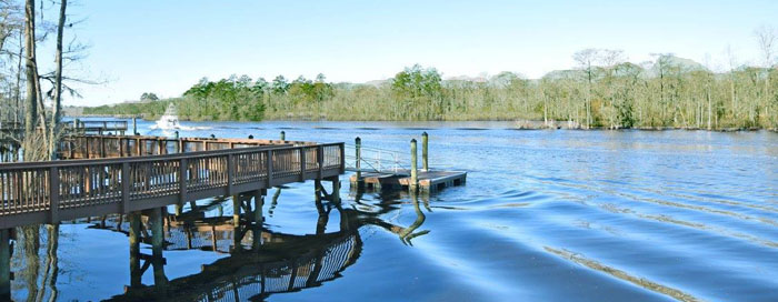 Cypress River Plantation Boat Dock