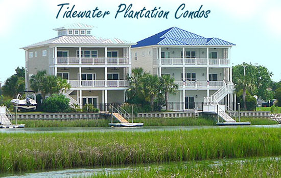 Condos for Sale in Tidewater Plantation, North Myrtle Beach