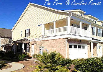 Townhomes at The Farm in Carolina Forest