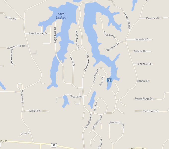 Indian Lakes Subdivision In West Monroe LA