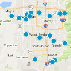 The Top 10 Neighborhoods In Salt Lake City Map Icon