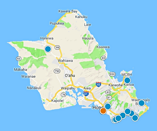 Hawaii real estate map search