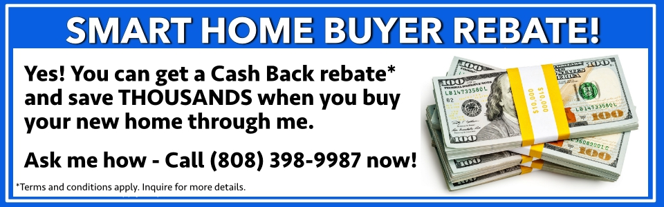 Hawaii home buyer rebate